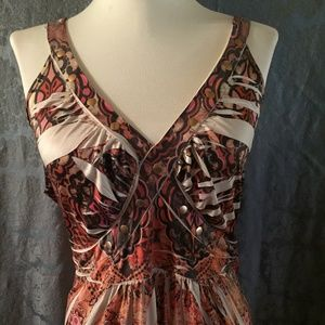 Cato Sublimation Maxi Dress